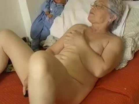Hairy Mature Granny Anal